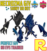 6IV NECROZMA ⚔️ SHINY or NOT (+ITEM!) 🛡 SWORD & SHIELD (or HOME)