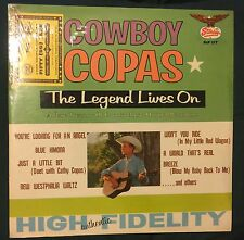 COWBOY COPAS The Legend Lives On LP Starday sealed with coupon