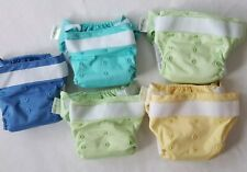 bumGenius Freetime all-in-one hook & loop closure, Reusable Diapers - lot of 5