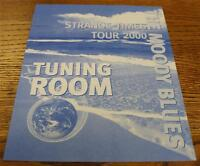 OTTO Backstage Concert Door Sign THE MOODY BLUES Strange Times Tour TUNING ROOM