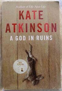 A God in Ruins Book Club Choice Paperback Infinite Chances Free AU Post Like NEW
