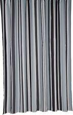 Bathroom Stripe Mould-Resistant Bath Shower Curtain Trendy  (Croydex) BLACK #259