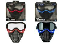 Nerf Rival Face Mask Red Blue Ages 14+ Toy Gun Blaster Fire Play Rounds Gift Fun