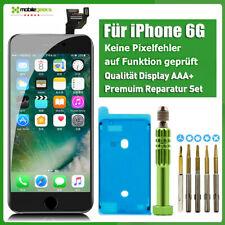 Display Vormontiert für iPhone 6 6G Schwarz A1549 A1586 LCD RETINA Glas Komplett