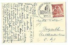 Briefmarken aus Berlin (1950-1951) mit Sonderstempel
