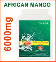 PURE AFRICAN MANGO HIGH STRENGTH CAPSULES 6000mg WEIGHTLOSS FAT BURNER DIET AID
