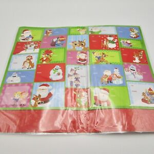 Rudolph the red nosed reindeer Christmas gift tags 50 new NIP stickers to/from