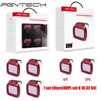 PGYTECH DJI Mavic Mini Camera Lens Filter UV CPL ND NDPL 8 16 32 64 Filter Set