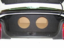 """2005-2014 Ford MUSTANG 2-10"""" Subwoofer Sub Box W/ AMP MOUNT AREA/RACK (TYPE 1)"""