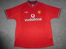 Manchester United FC Umbro 00/02 Football Shirt Soccer Jersey Camesita Kit GC