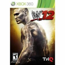 WWE '12 (Microsoft Xbox 360, 2011) Complete w/ Manual - Fast Shipping