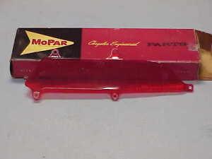 1961 Dodge Dart Tail LENS RH Lower NOS MoPar Phoenix