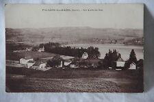 Cpa Paladru (Isère - 38) un coin du lac 1932