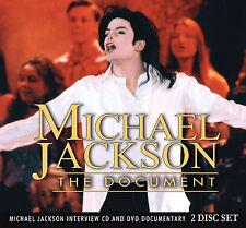 MICHAEL JACKSON New Sealed 2017 COMPLETE BIOGRAPHY & INTERVIEWS DVD & CD SET