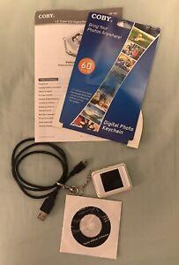 "Coby 1.5"" Color LCD Digital Photo Key Chain. DP-151, no box."