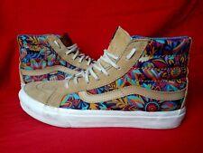 Vans Unisex Wo 8.5 Men 7 SK8 Hi Floral High top Khaki Suede/Leather Sneaker Shoe