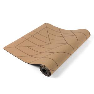 Lotuscrafts CORK Yogamatte ALIGN Rutschfeste Korkschicht für Hot Yoga & Pilates