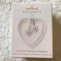 Hallmark Keepsake Our First Christmas Together 2012 Ornament New