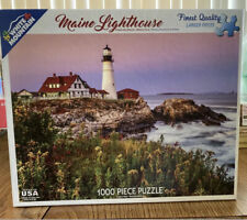 White Mountain Jigsaw Puzzle Maine Lighthouse 1000 Pieces