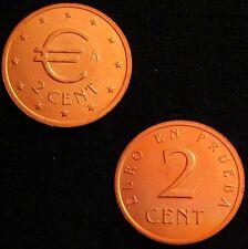 *GUTSE* 2 CÉNTIMOS DE EURO EN PRUEBA *CHURRIANA*, SIN CIRCULAR