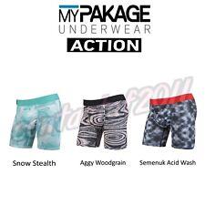 MyPakage Men's ASSORTED ACTION Boxer Brief Underwear BRAND NEW IN PACKAGE!