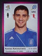 PANINI 95 Kostas Katsouranis Grecia euro 2012 Poland-Ucraina