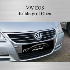 VW EOS - 3M Chrom - Zierleiste Chromleiste Chromzierleiste Kühlergrill Oben