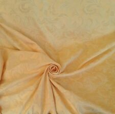 "10 Meters Prestigious Gold Heavy Jacquard Brocade 60"" Wide Curtain Fabric"