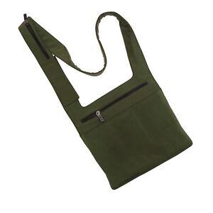 Miu Miu Shoulder Bag Dark Green Nylon 1999 Crossbody