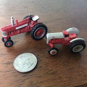 Die cast ERTL Tractor & Ford Tractor, 1/64