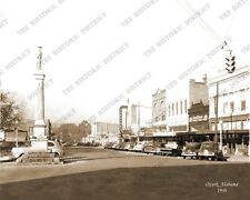 Ozark, Alabama 1946 8x10 Sepia Photo FREE SHIPPING!
