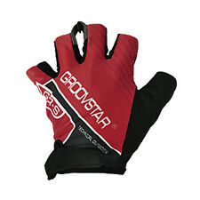Half Finger Gloves Cycling Mitts Bike Golf Fishing for Men Large Size Red