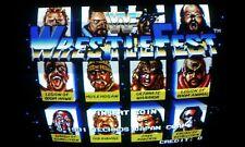 WWF WrestleFest JAMMA ARCADE  PCB GAME BOOTLEG