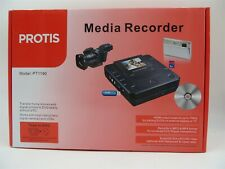 Protis PT1190 Media Recorder With 15 Blank Disks - NEW Open Box