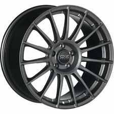 OZ RACING SUPERTURISMO LM MATT GRAPHITE SILV LETTER ALLOY WHEEL 18X8 ET45 5X112