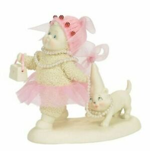 Dept 56 Snowbabies The Glam Squad 4058500 Snowbaby With Cat
