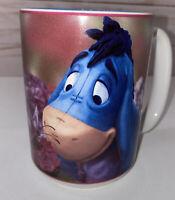 Disney Store Eeyore Smell the Flowers Coffee Mug- Preowned