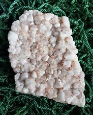 Quartz Crystal Cluster with red Hematite inclusions Australian 480g 14x10x3.5cm