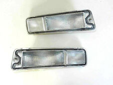 MITSUBISHI L200 1996-2005 BRAND NEW FRONT INDICATOR REPEATER CLEAR - SET LH + RH