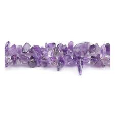 Purple Amethyst Beads Chip 5-8mm Long Strand Of 240+