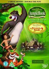 Jungle Book & Jungle Book 2 [DVD-2007, 3 Disc Set] Region 2. 2 Great Movies-