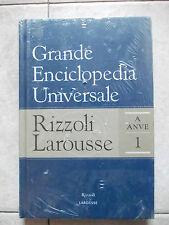 GRANDE ENCICLOPEDIA UNIVERSALE RIZZOLI LAROUSSE VOL 1 A-ANVE