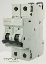 MEM Memshield 2 MCH140N - 40a Type C Single Pole Switched Neutral MCB Used
