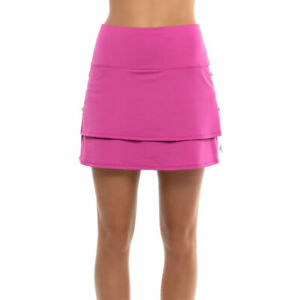 Lucky in Love Snap to It Passion Pink 15.5in Womens Golf Skort