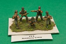 SGTS MESS I11 1/72 Diecast WWII Italian Army Artillery Crew-5 Figures