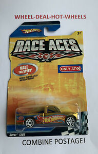 🔸Hot Wheels - Race Aces - Gold - Chevy 1500 Pickup - Target Exclusive!-VR- HTF!