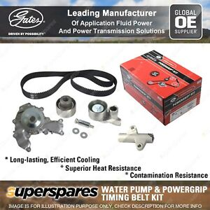 Gates Water Pump & Timing Belt Kit for Holden Jackaroo Monterey UBS TCKHWP221A