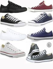 Converse Chuck Taylor низкий топ кожаные мужские повседневные туфли