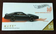 Hot Wheels ID RACING Custom Pontiac TRANS AM Firebird T/A KNIGHT RIDER KITT