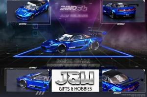 Inno64 Nsx Na Razzo Coniglietto V2 Aero Blu Metallico 1/64